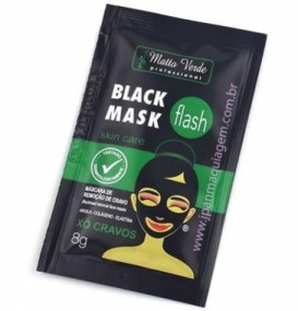 MÁSCARA SACHÊ BLACK MASK FLASH MATTO VERDE