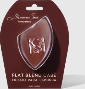 Estojo Para Esponja Flat Blend Case