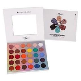 Paleta super pigmentada 30 cores cor 1 Mylife