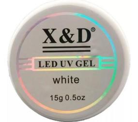 Gel X&D alongamento unha 15gr led Uv White
