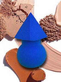 Bix makeup Esponja aplicador de maquiagem multifu