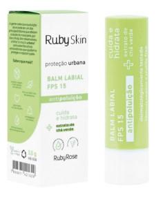 Balm labial Skin proteção urbana Ruby rose