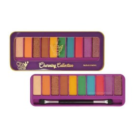 Paleta De Sombras 10 Cores Charminy Collection Cor A – City Girls