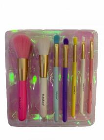 Kit de Pincel com 7 Peças Rainbow Ruby Face