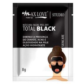 Mascara Facial Peel Of Total Black Max Love Sache