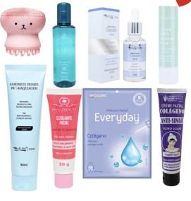 Kit Skin care Pele firme e hidratada
