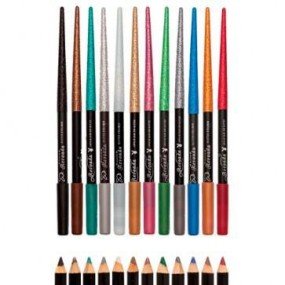 Lápis de Olho Colorido com Glitter Revoada Playboy