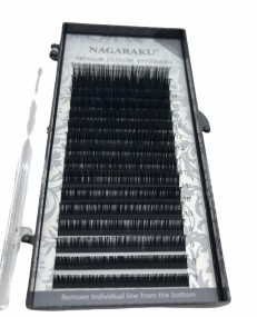 Cílios Fio a Fio  Nagaraku Premium Mix 0,10 D