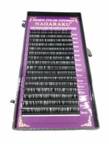 Alongamento De Cilios Fio A Fio Nagaraku 9mm 007D