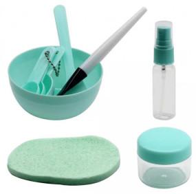 Kit Para Argila e Skin Care - 9 peças