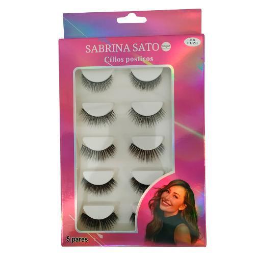 Cílios Postiços Magnéticos 5 Pares 5D Sabrina Sato