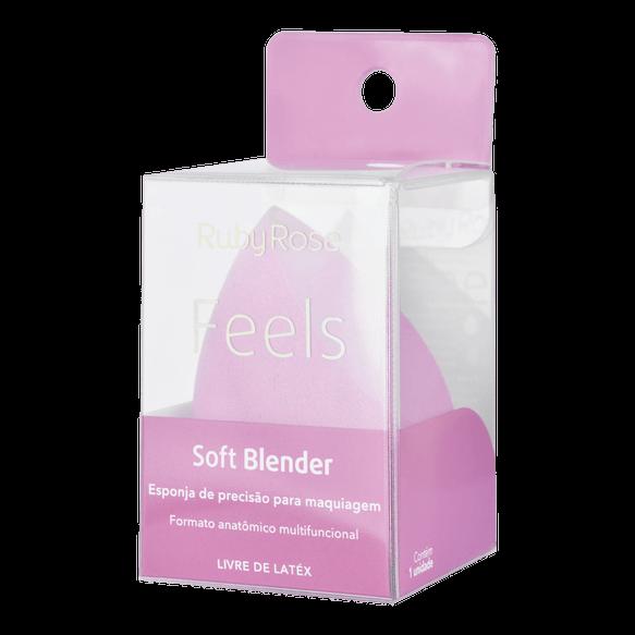 Esponja para Maquiagem Soft Blender Feels Ruby Rose