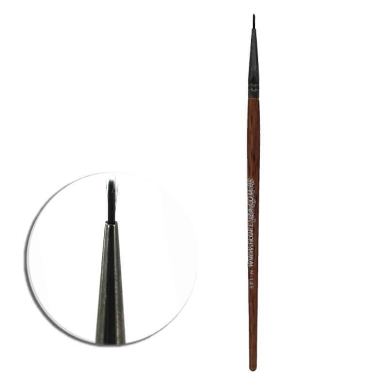 pincel de Precisão para delinear medio   M145 Macrilan